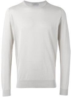 свитер с круглым вырезом John Smedley