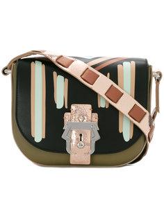 сумка на плечо с замочной скважиной Paula Cademartori