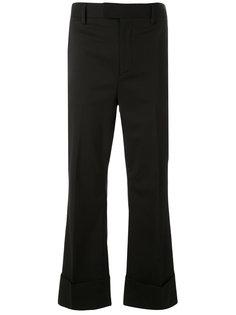 укороченные классические расклешенные брюки  Dsquared2