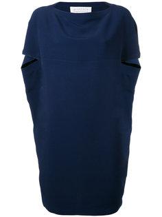платье с рукавами-кап Gianluca Capannolo