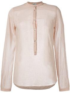 блузка с воротником-стойкой Forte Forte