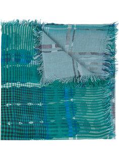 шарф с принтом в клетку Faliero Sarti