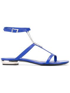 сандалии с ремешком на щиколотке La Perla