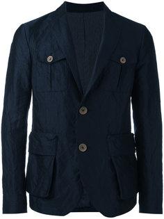 пиджак с пуговичной отделкой Giorgio Armani