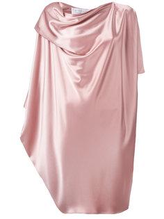 драпированное платье миди  Gianluca Capannolo