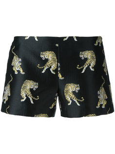 шорты с принтом тигров Giamba