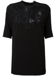 блузка с цветочным кружевом Stella McCartney