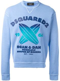 Honolulu Shaper of Boards sweatshirt Dsquared2