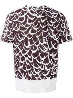 футболка с принтом Flutter Marni
