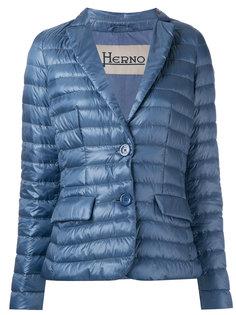 стеганый пиджак Herno