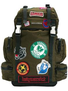 рюкзак Akira с нашивками Dsquared2