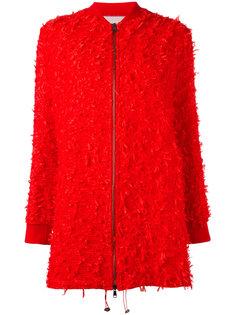 пальто с бахромой Giamba
