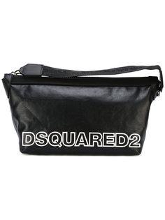 косметичка с контрастным логотипом Dsquared2