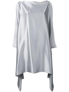 платье с асимметричным подолом Gianluca Capannolo
