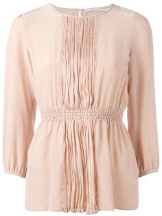 блузка с плиссировкой Agnona