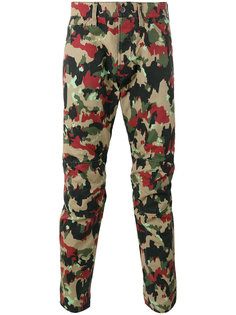 брюки с камуфляжным принтом G-Star