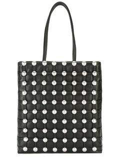 сумка-шоппер с округлыми заклепками Alexander Wang
