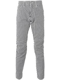 полосатые брюки G-Star