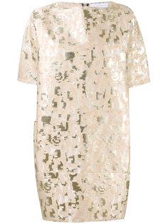 жаккардовое платье  Gianluca Capannolo