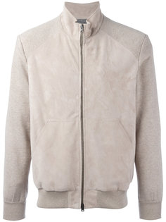 куртка бомбер с панельным дизайном Herno