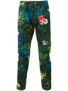 брюки с цветочным принтом G-Star