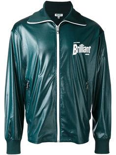 куртка на молнии с логотипом Kenzo
