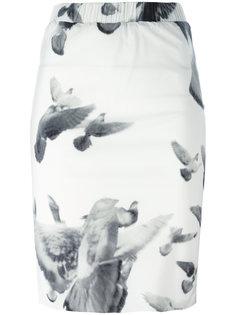 юбка-карандаш с цветочным принтом A.F.Vandevorst