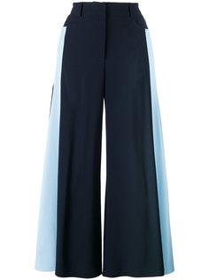 расклешенные брюки с полосками по бокам Peter Pilotto