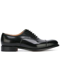 классические туфли оксфорды Churchs
