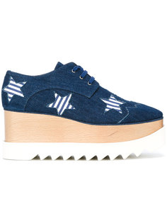 star pattern platform trainers Stella McCartney