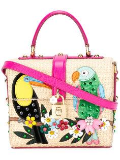 декорированная сумка-тоут Dolce & Gabbana