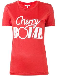 футболка Cherry Bomb Ganni