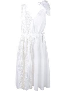 платье с цветочным кружевом Rochas