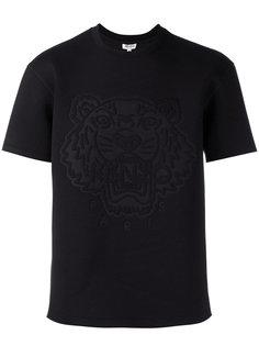 футболка с тиснением в виде тигра Kenzo