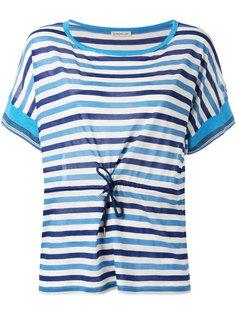 полосатая футболка Moncler