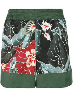 шорты для плавания с цветочным принтом Christian Pellizzari