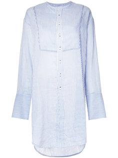 striped longline shirt  Bassike