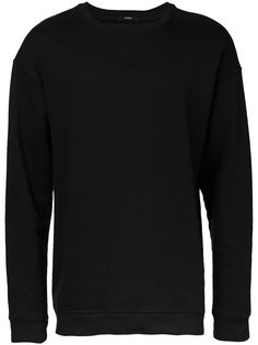 Curved sweatshirt Bassike