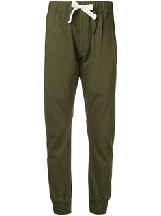 French Terry cuffed trousers  Bassike