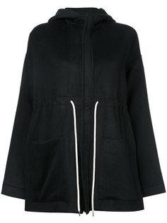 drawstring hooded jacket  Bassike