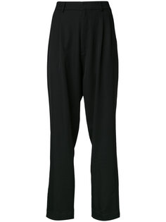 pleated front pants  Bassike