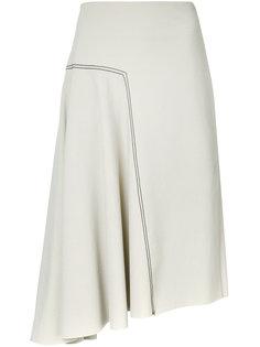 asymmetric skirt  Bassike