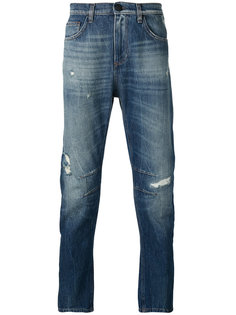 distressed-effect jeans Versace Jeans