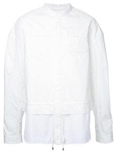 concealed placket shirt Juun.J