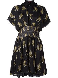 tiger print shirt dress Giamba