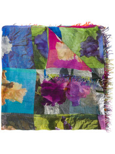 multi-patterned scarf Faliero Sarti