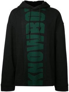 print front hoodie Juun.J