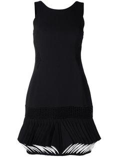 платье с плиссированным подолом Abito  Capucci