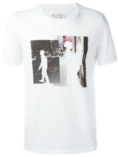 футболка с принтом Man Maison Margiela