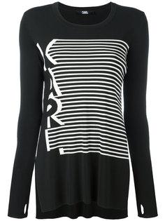 полосатая кофта Karl Lagerfeld
